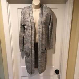 Sun & Shadow Knit Duster sz XS